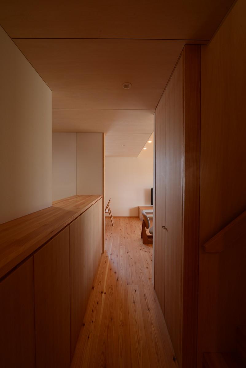 島立の家Ⅱ(松本市)玄関~居間