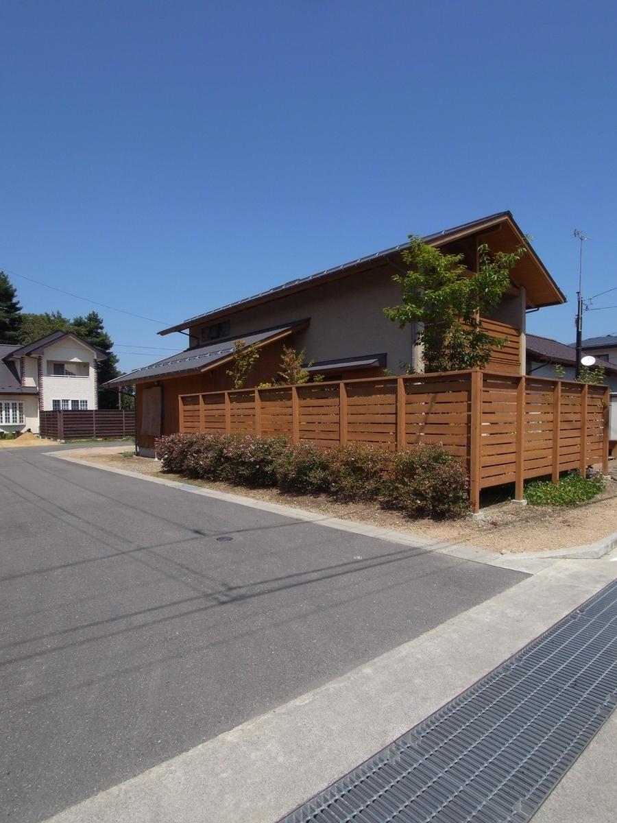 梓川の家Ⅰ(松本市)-外観