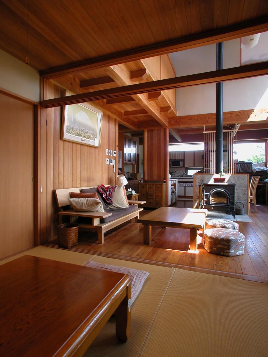 波田の家(松本市)-茶の間~居間