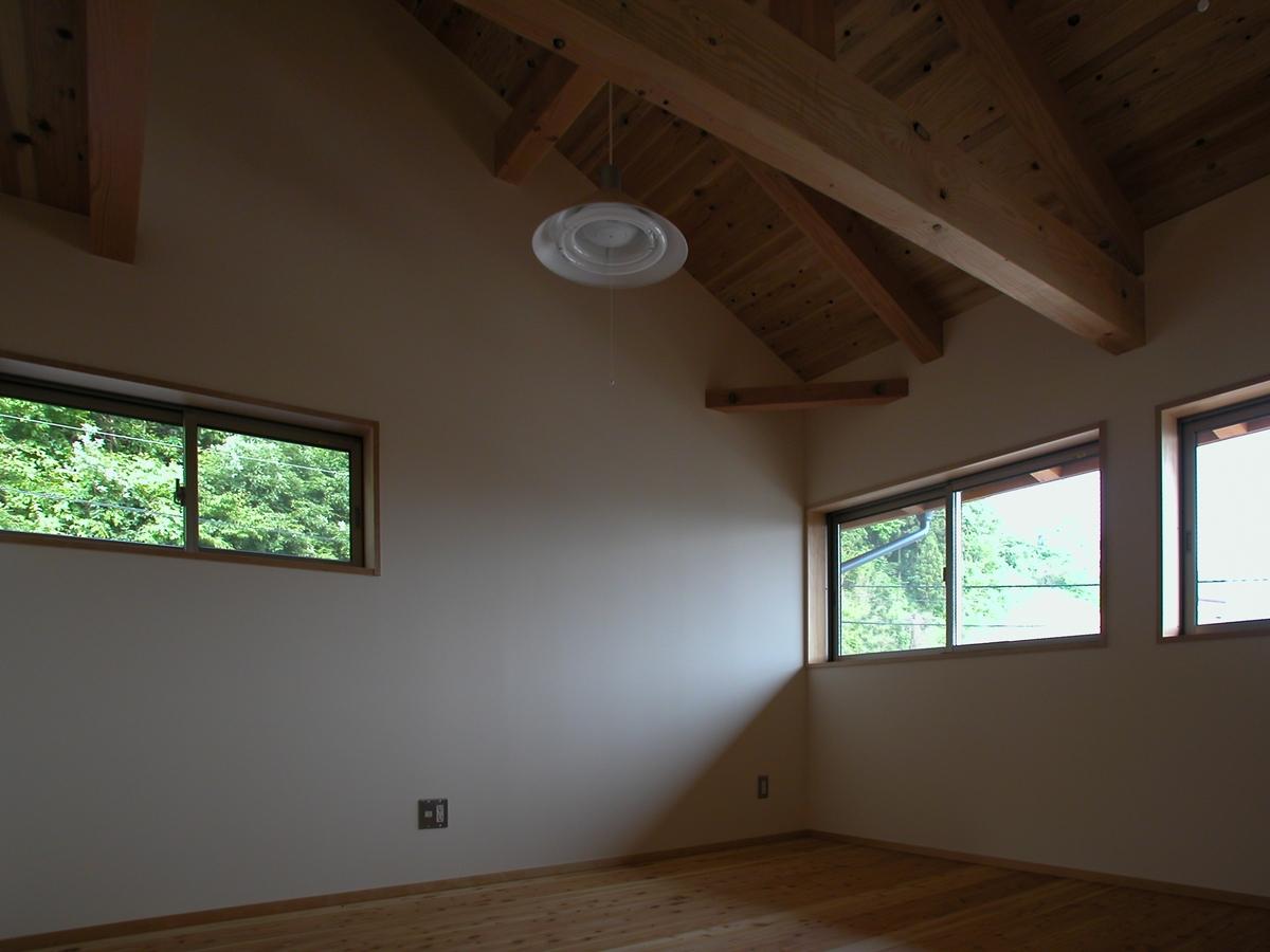 光の家(安曇野市)-子供室