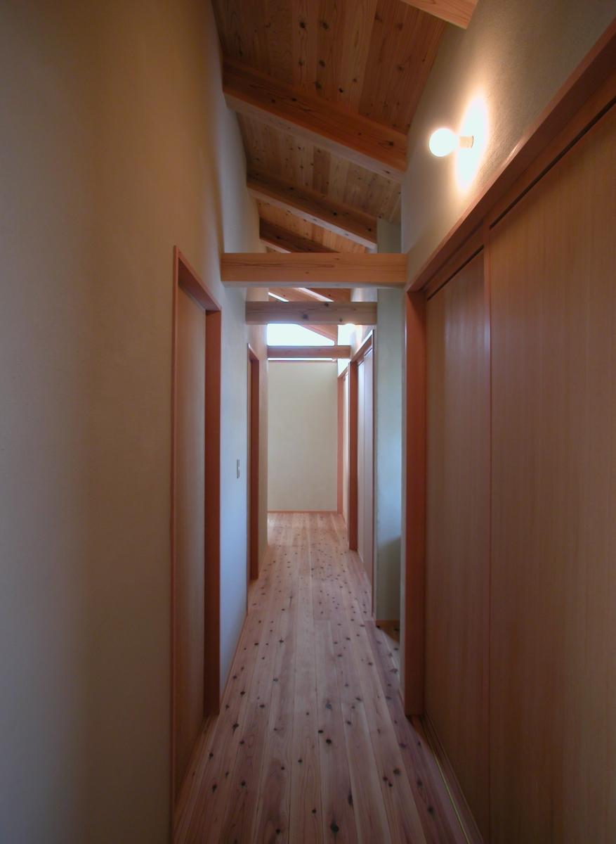 中条の家Ⅰ(松本市)-2階廊下