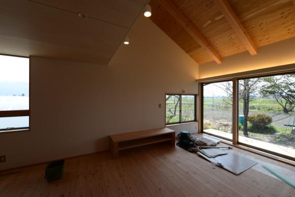 松本市 島立の家Ⅱ クリーニング 長野県松本市の建築設計事務所 建築家 丸山和男 現場監理 住宅
