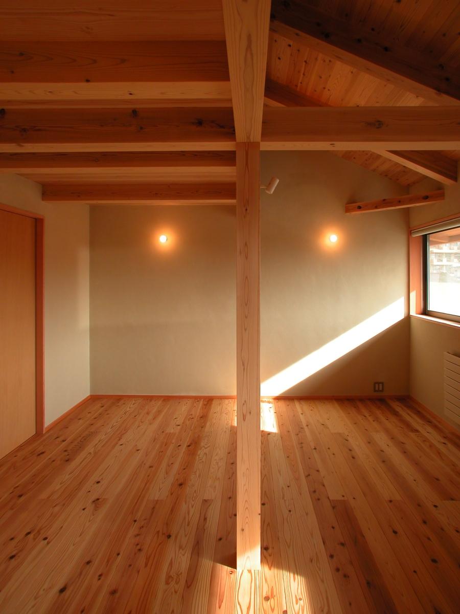 中条の家Ⅰ(松本市)-子供室(ロフト)