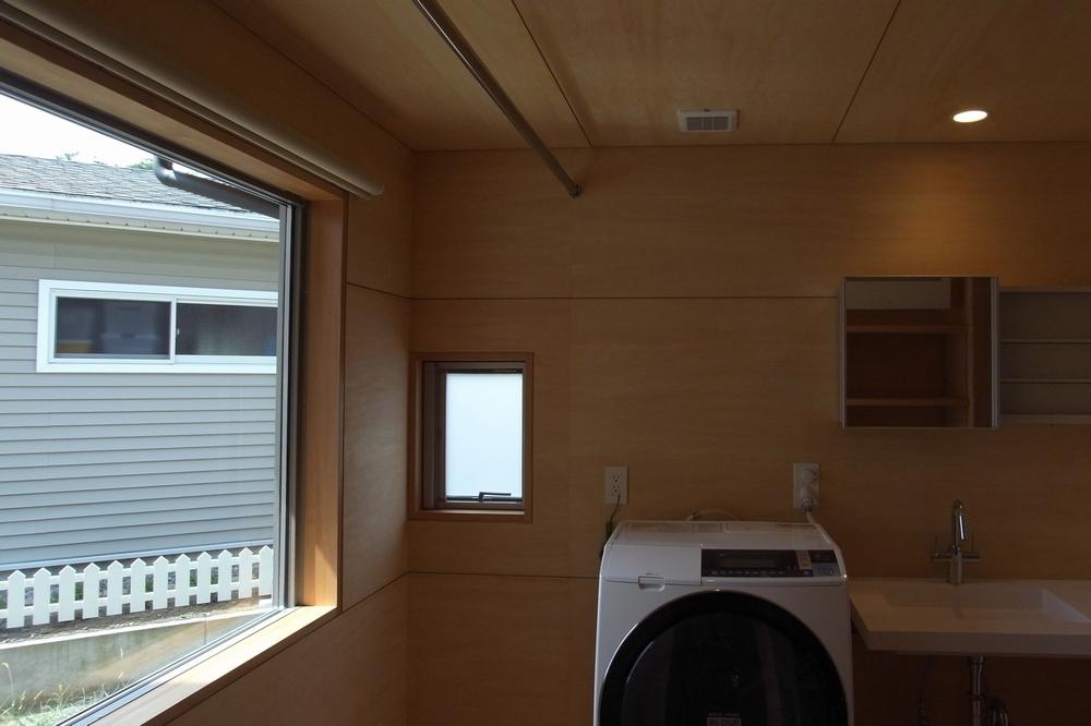 三郷の家Ⅳ(安曇野市)-洗面脱衣洗濯室