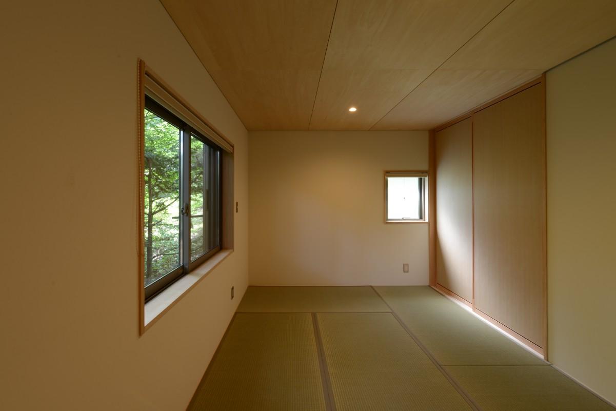 駒ヶ根山荘(駒ヶ根市)-和室(after)