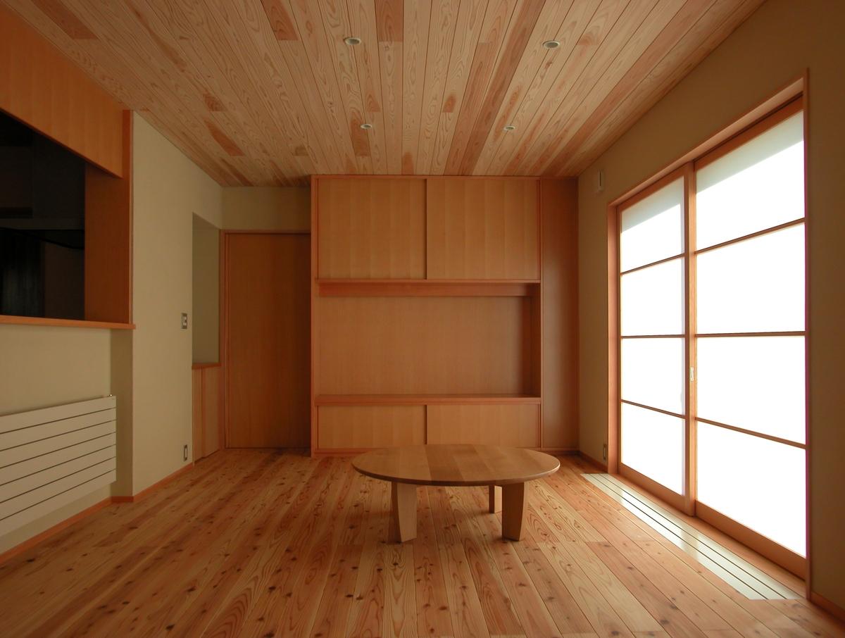 中条の家Ⅰ(松本市)-居間食堂