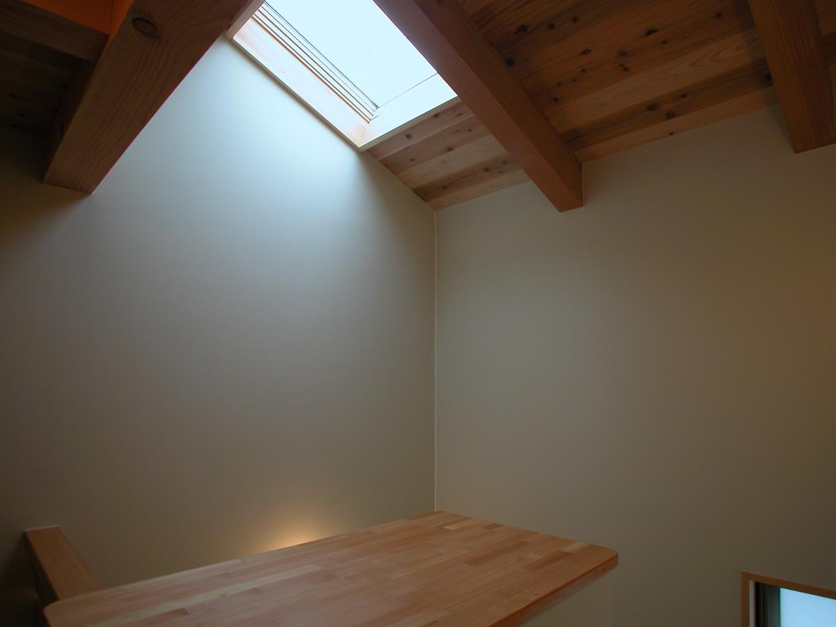 片丘の家Ⅰ(塩尻市)-階段室