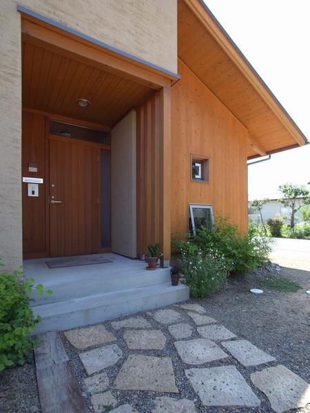 松本市 建築家 建築設計事務所 梓川の家 倭の家 車庫計画