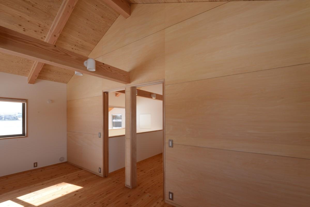 三郷の家Ⅴ(安曇野市)-2階子供室