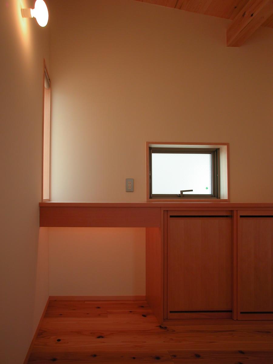 和田の家(松本市)-玄関ホール