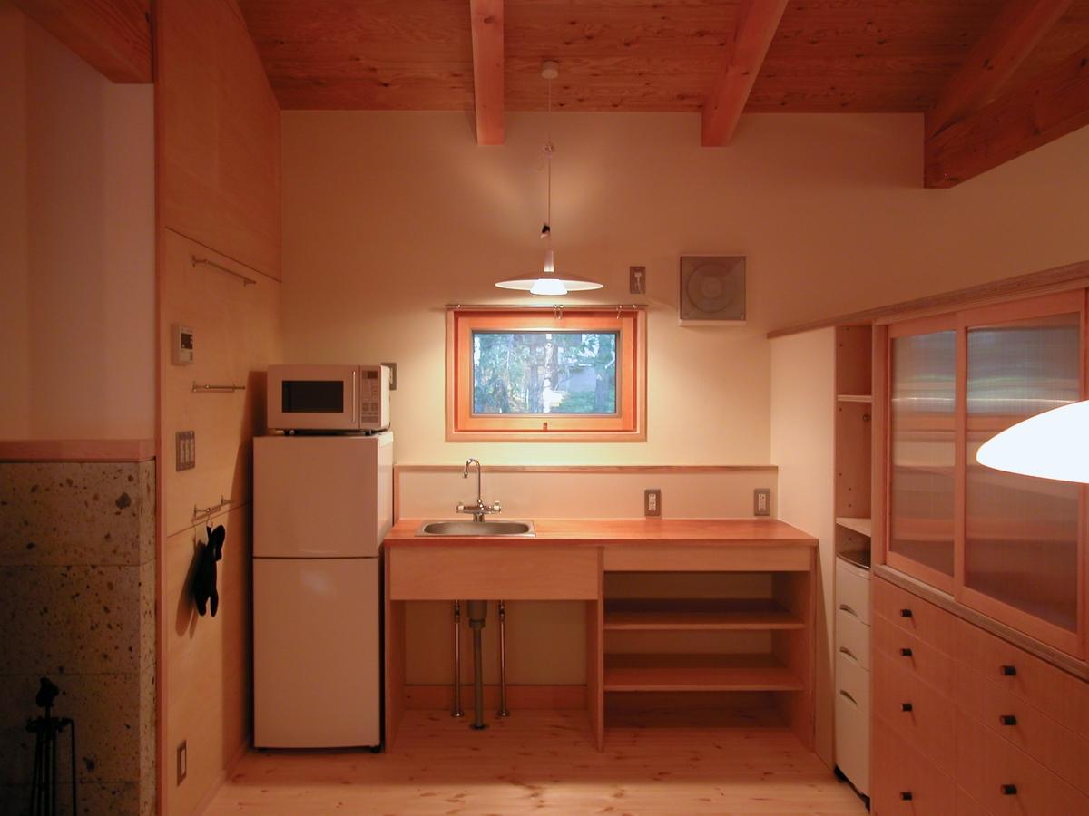 飯綱高原の山小屋Ⅰ( 長野市)-LDK・木製キッチン
