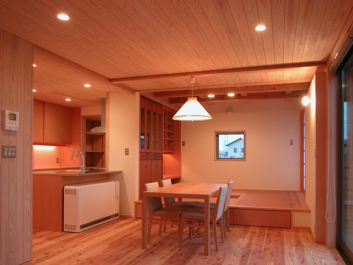 和田の家(松本市)-食堂・小上り