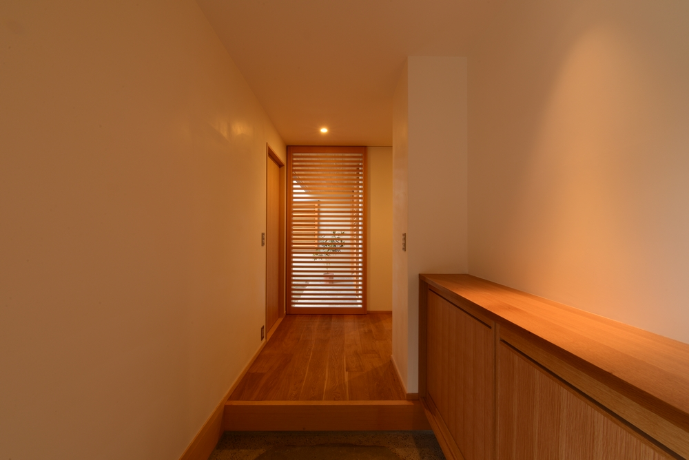 島内の家(松本市)-玄関