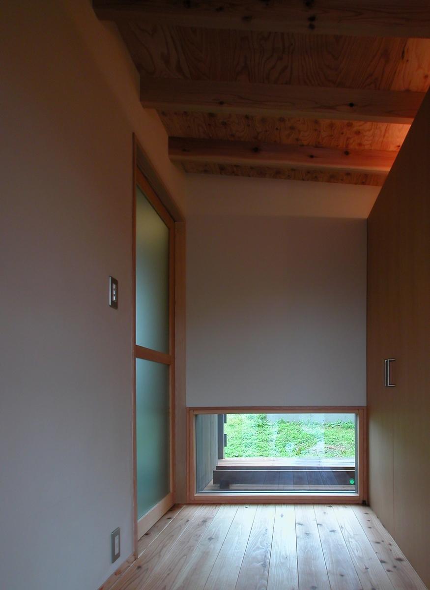 穂高有明の家Ⅲ(安曇野市)-玄関ホール