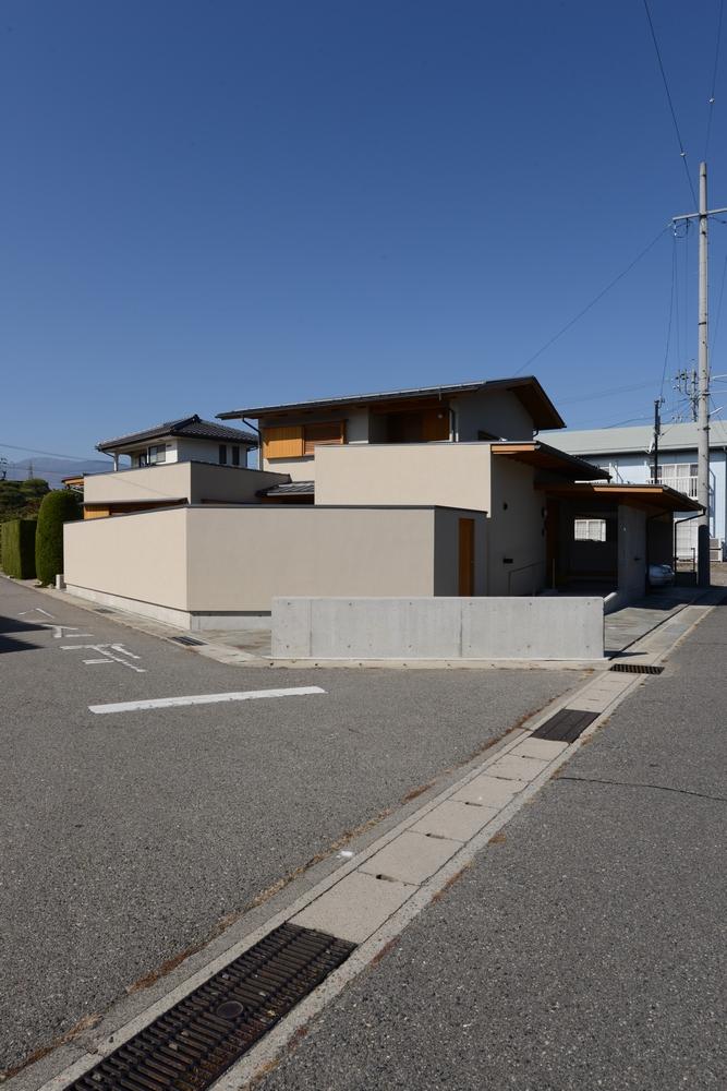 島内の家(松本市)-外観
