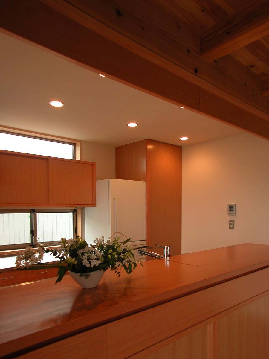 堀金の家Ⅰ(安曇野市)‐台所