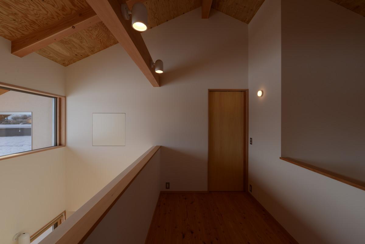 三郷の家Ⅴ(安曇野市)-2階ホール