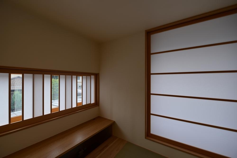 島内の家(松本市)-書斎