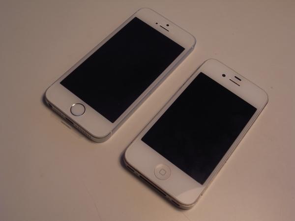 iphone4sからiphoneSEへ