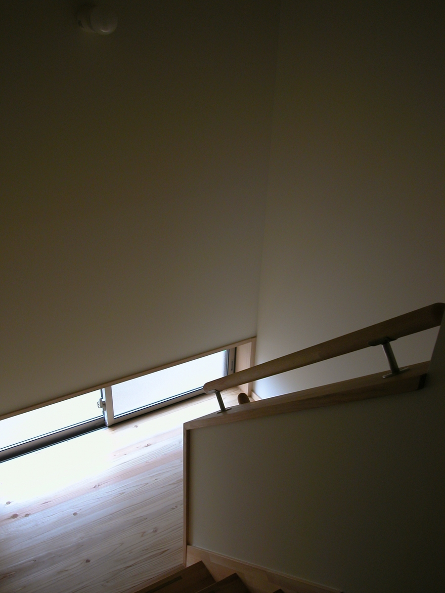 光の家(安曇野市)-階段