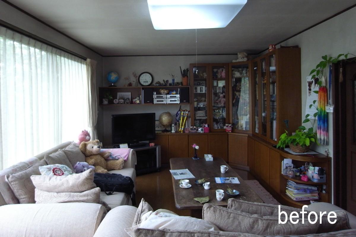 吉田の家(長野市)・リノベーション|before