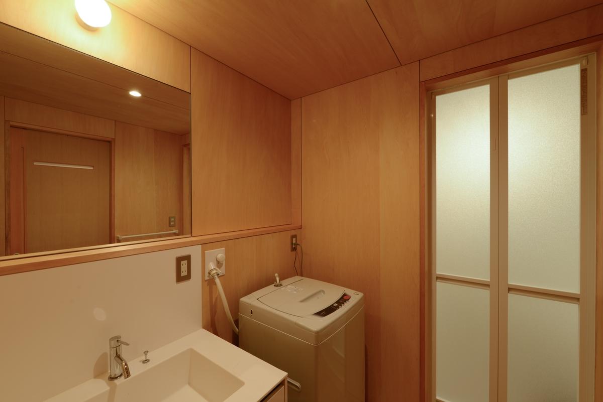 駒ヶ根山荘(駒ヶ根市)-洗面脱衣室(after)