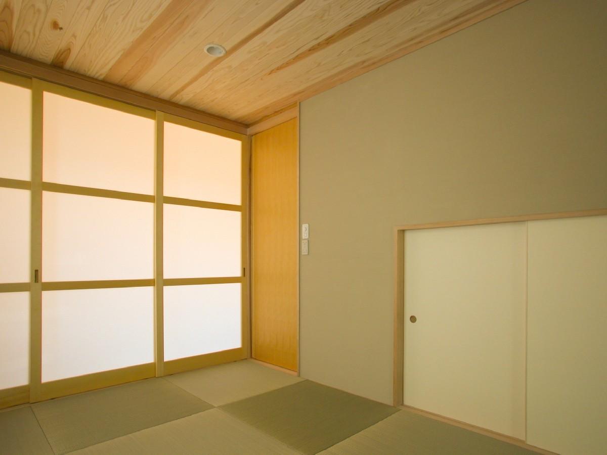 高田の家(長野市)-和室