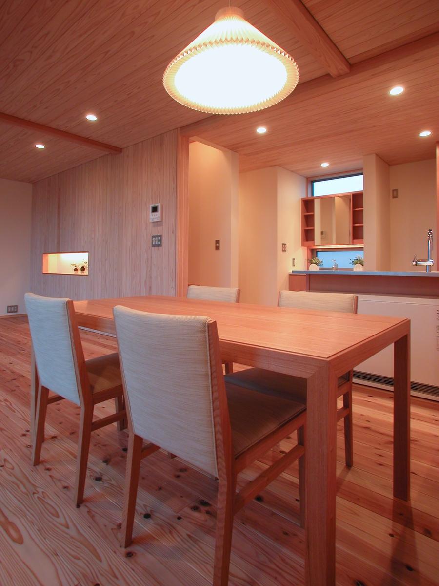和田の家(松本市)-食堂