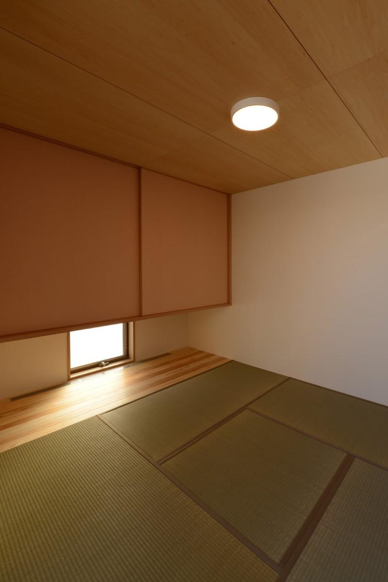 三郷の家Ⅴ(安曇野市)-和室4.5帖