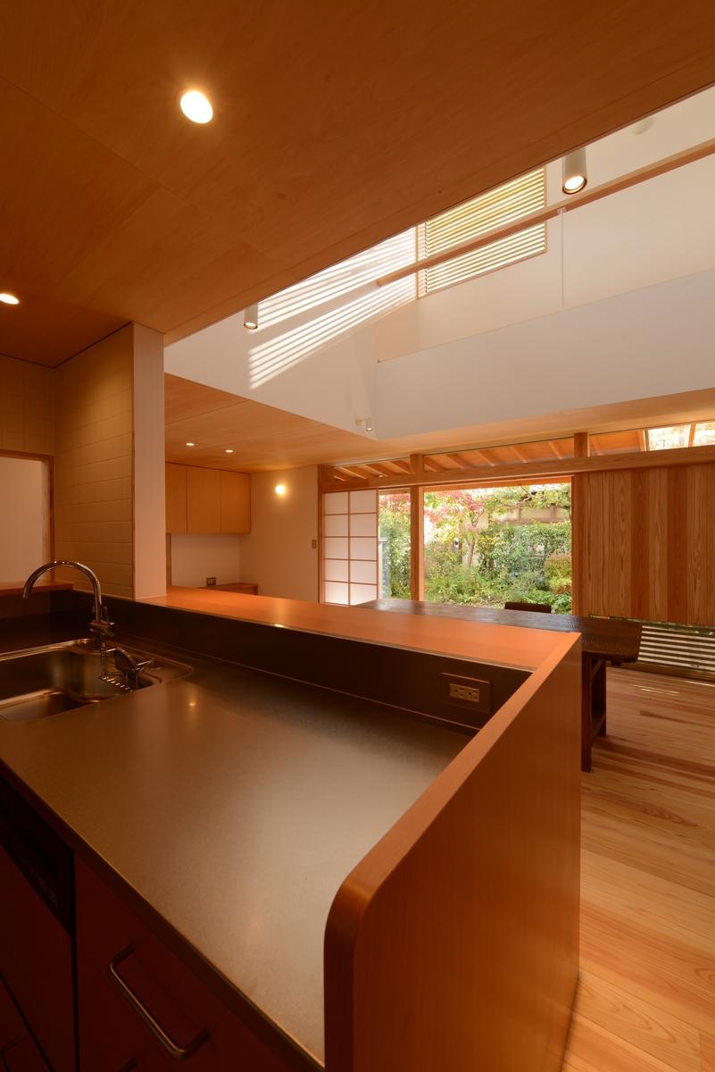 吉田の家(長野市)・リノベーション|台所~居間・食堂