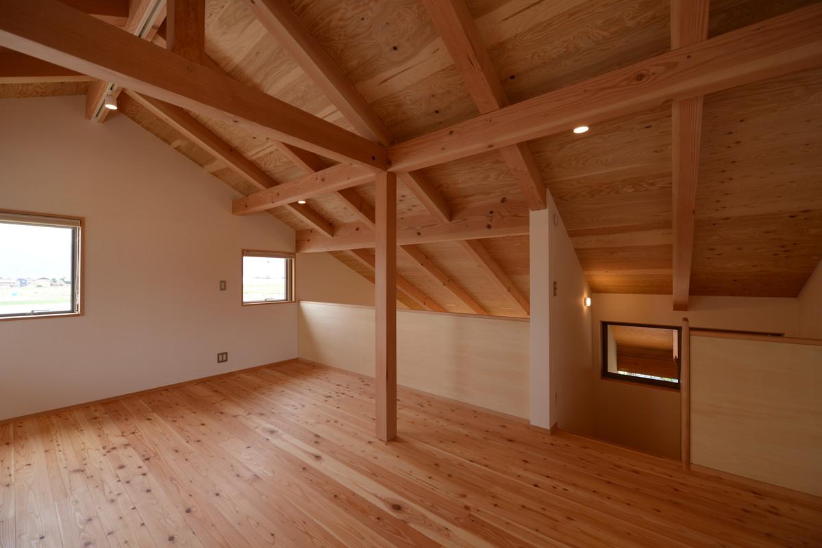 島立の家Ⅱ(松本市)2階個室(子供室)