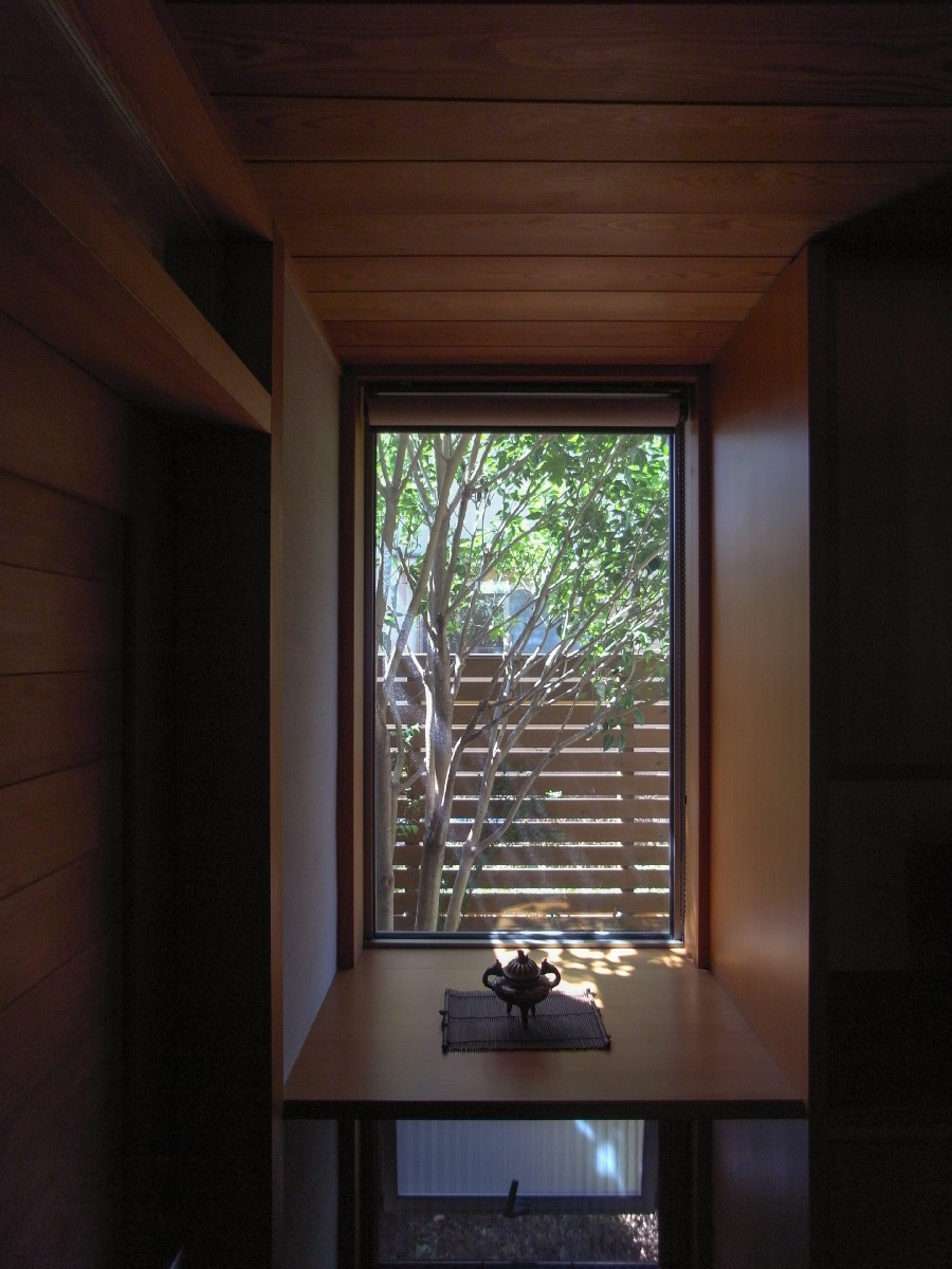 波田の家(松本市)-玄関