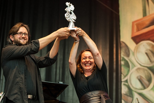 Alpen Klezmer Ruth-Preisverleihung TFF Rudolstadt | Foto: Holger John