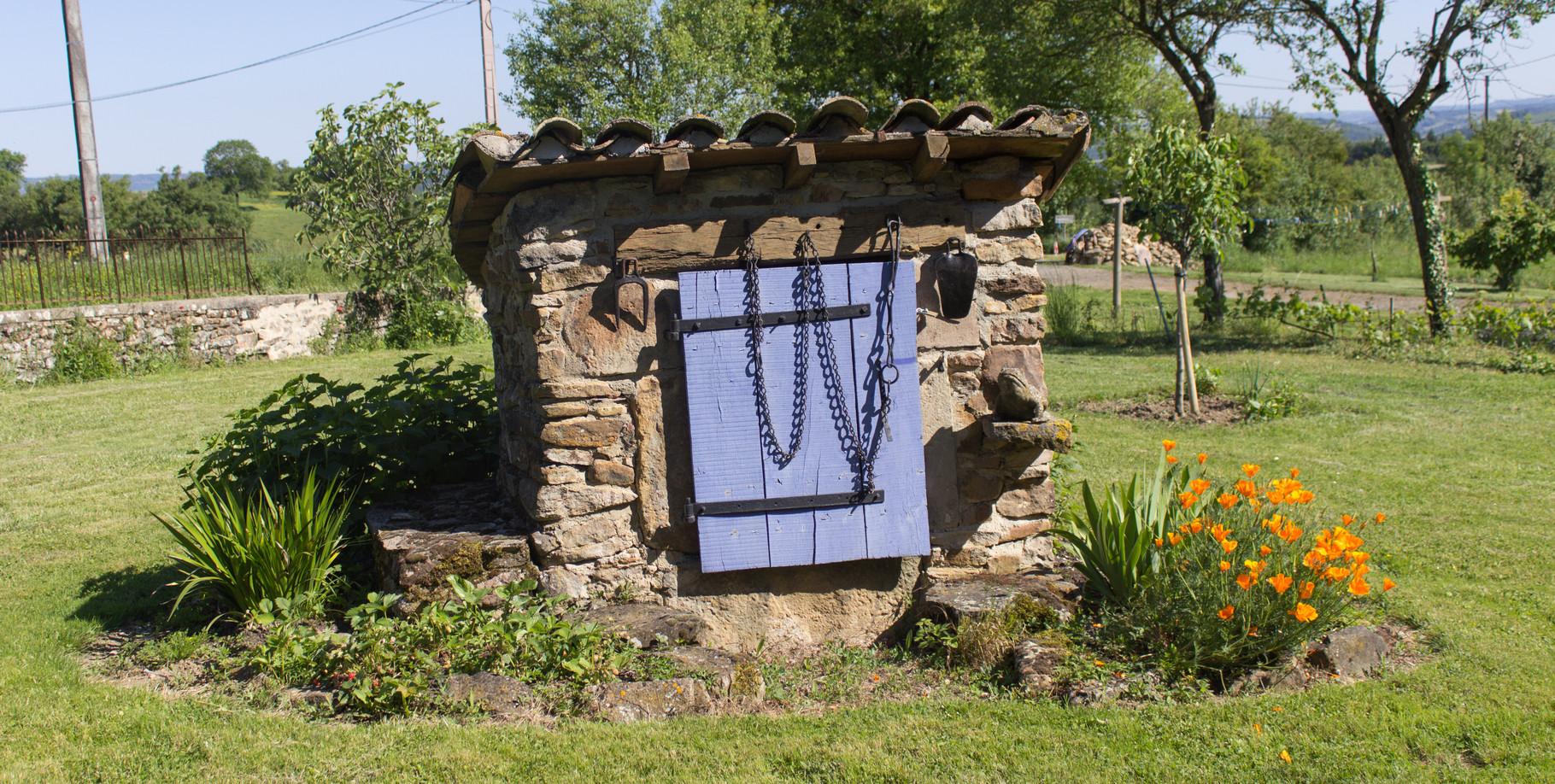 puits, Gîtes et chambre d'Hôtes Peyrecout Tarn Cordes Albi