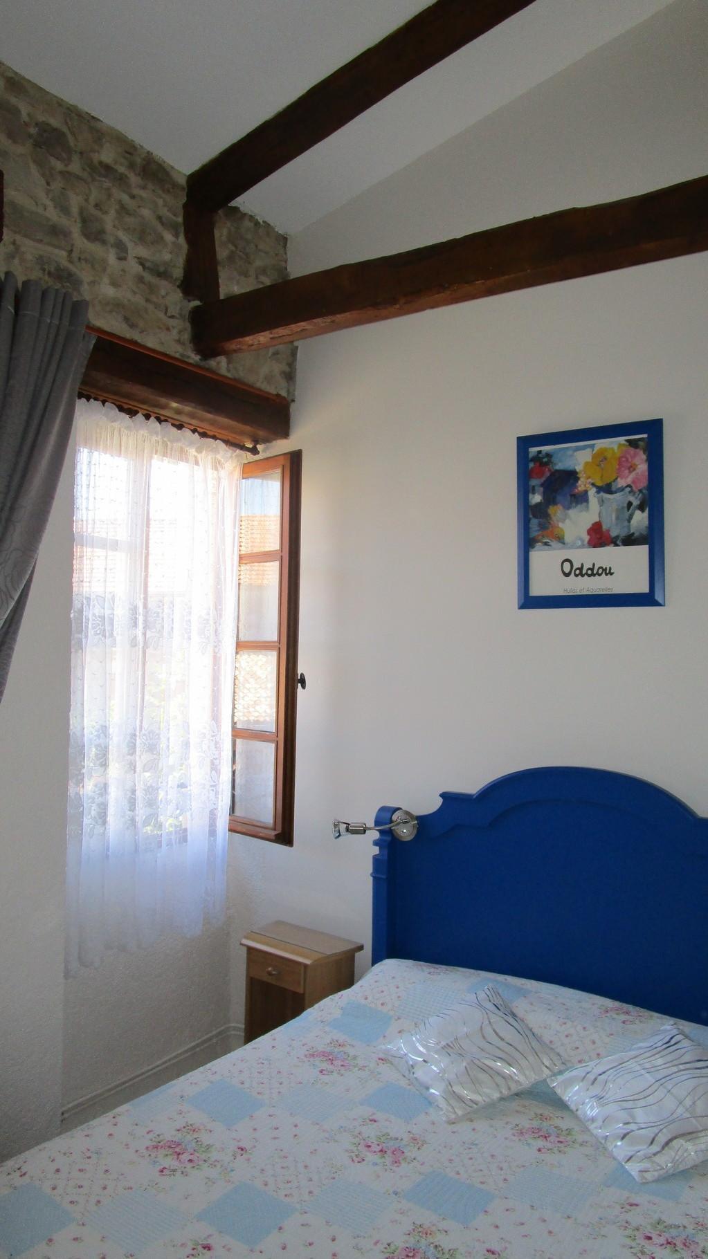 chambre bleue, Gîtes et chambre d'Hôtes Peyrecout Tarn Cordes Albi