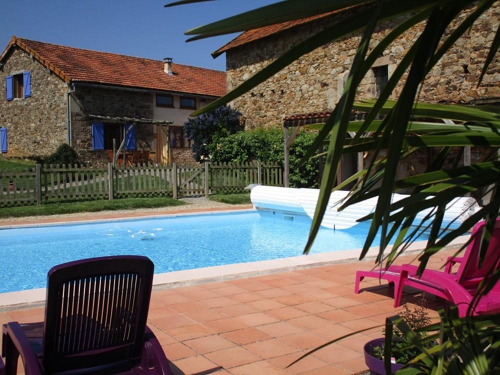 piscine Gîtes et chambre d'Hôtes Peyrecout Tarn Cordes Albi