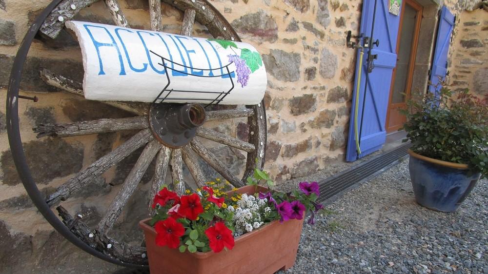 Accueil Peyrecout Gîtes et chambre d'Hôtes Peyrecout Tarn Cordes Albi