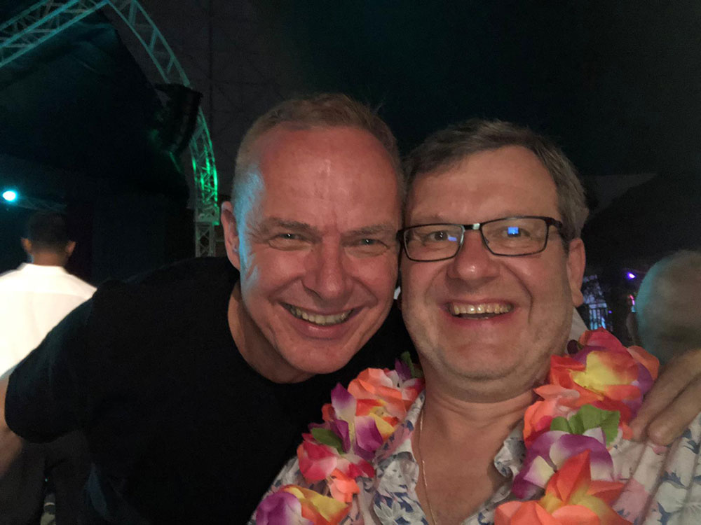 Mit Geschäftsführer  Werner Peintinger
