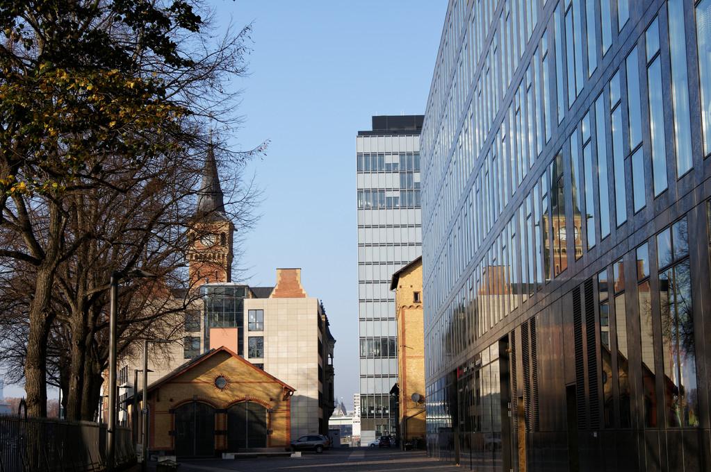 Blick in den Spiegel - Altes Hafenamt