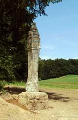 Tuffsäule bei Mittenkirchen