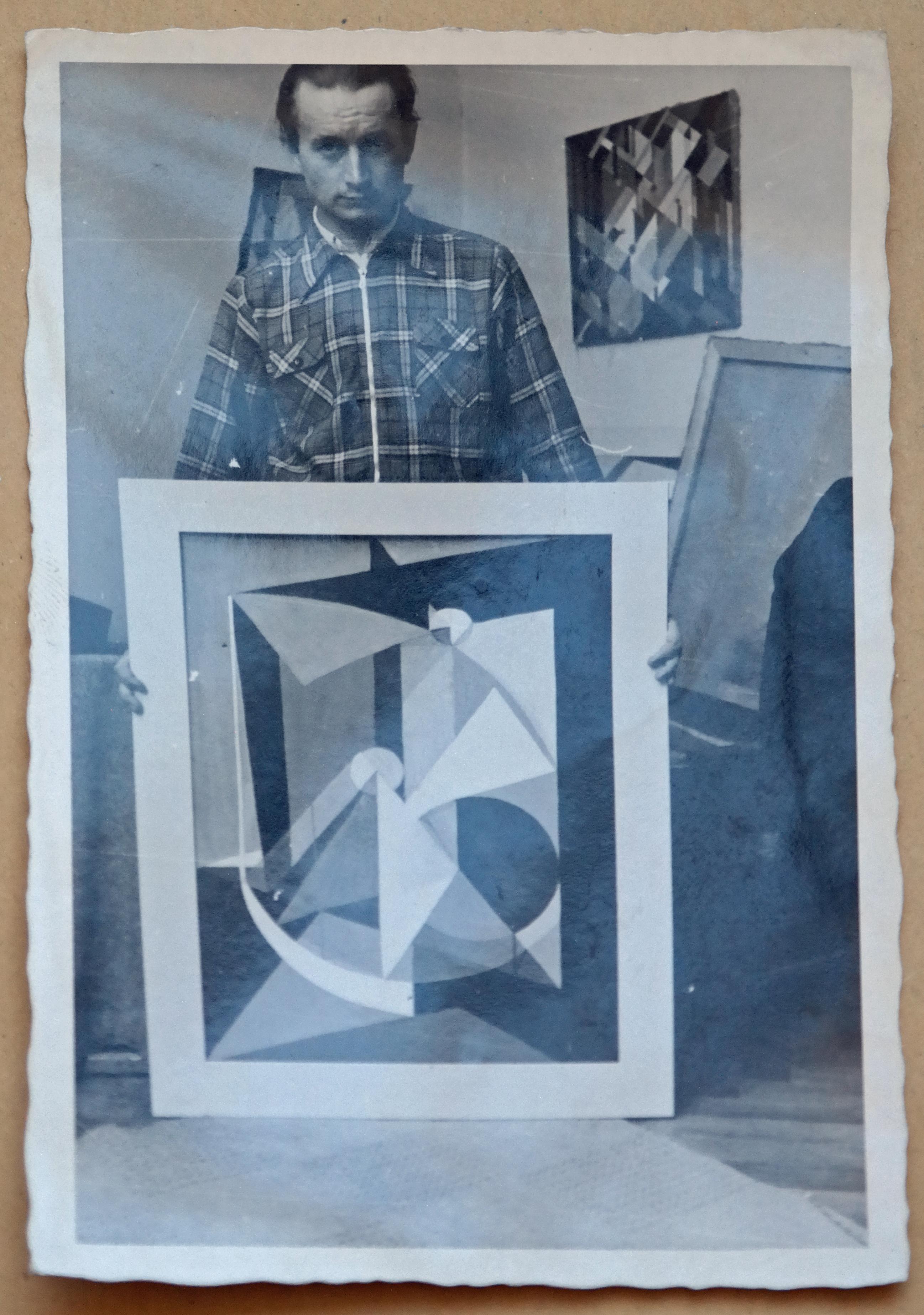 Rudolf Groeschel - Selbstbildnis