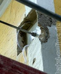 Stabilisieren der Außenmauern