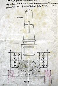 Auszug aus dem Originalplan von 1899