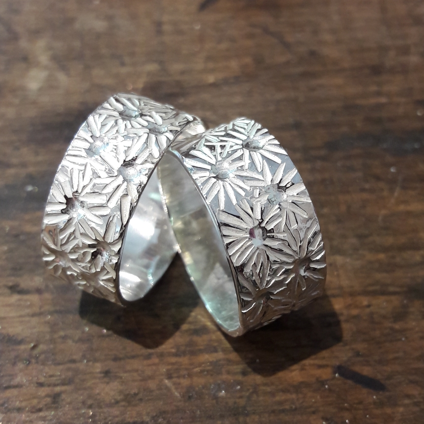 Silberringe Magaritte