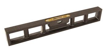 鋳鉄製垂直水平器(石工用)