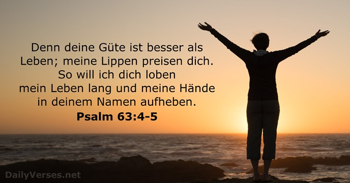 Psalm 63,4-5