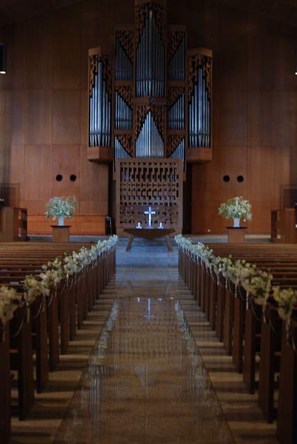 ICU(国際基督教大学)教会でのウエディング
