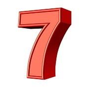 Die Zahl 7