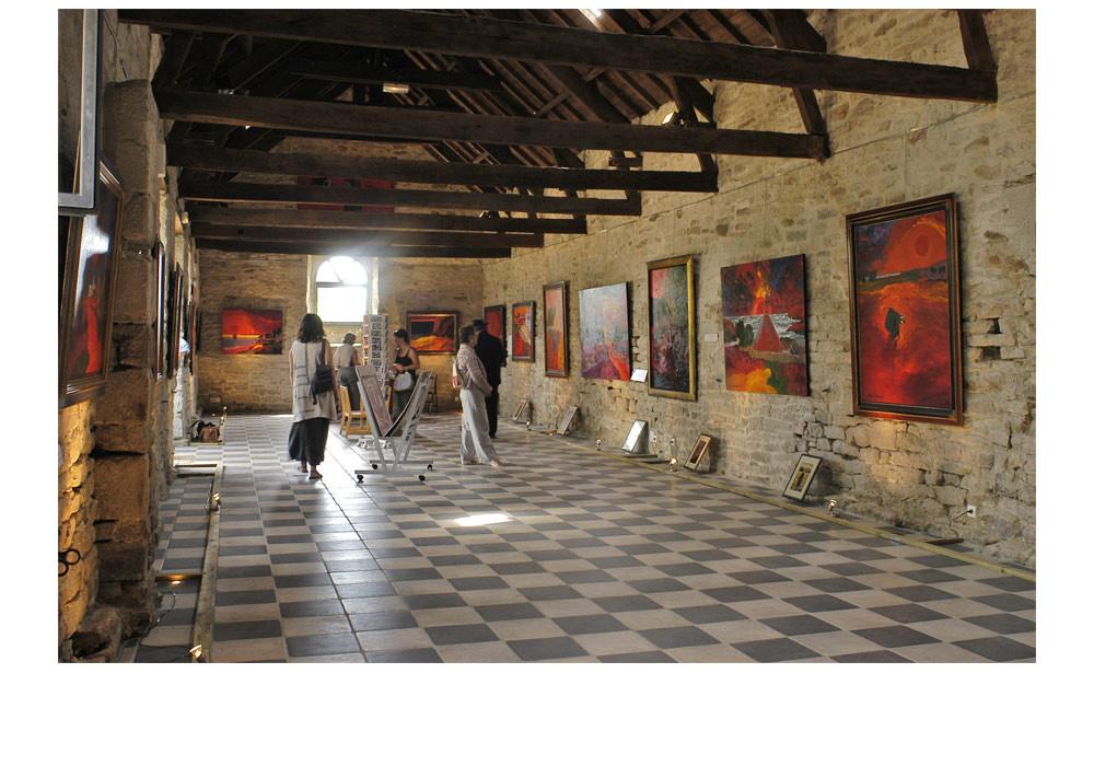 Exposition Manoir de Kerdanet - 2004 © Jean Duquoc