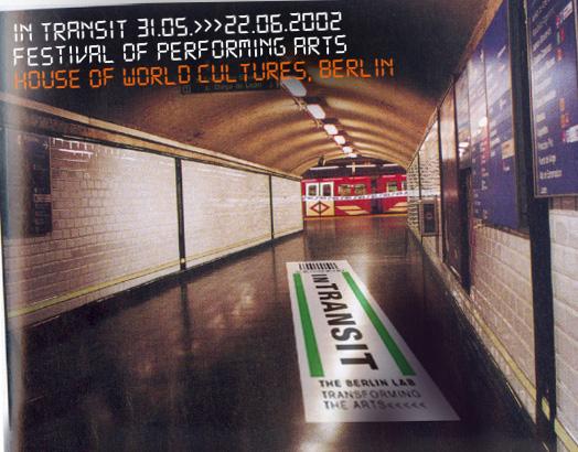 Anzeige in Berliner Veranstaltungstiteln